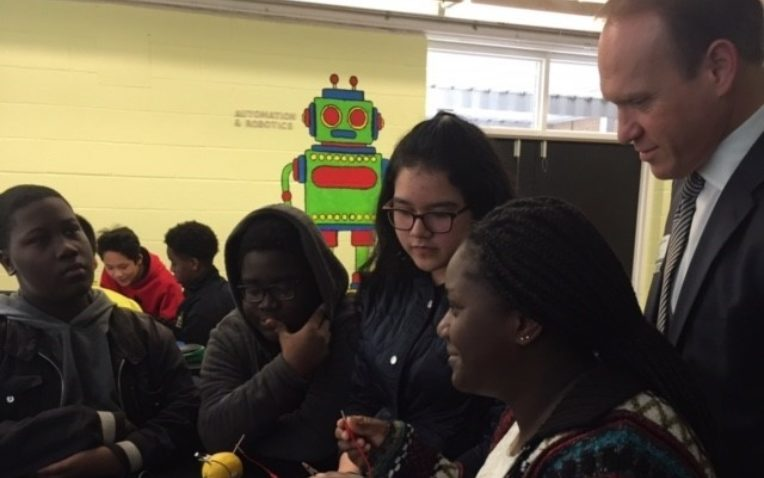 Coulwood Middle Teacher Sees Transformation from PLTW Gateway