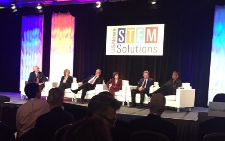 Bertram Leads Conversation on Technology in the Classroom at U.S. News STEM Solutions