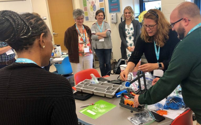New Training Model Focuses on Filling Shortage of Qualified STEM Teachers