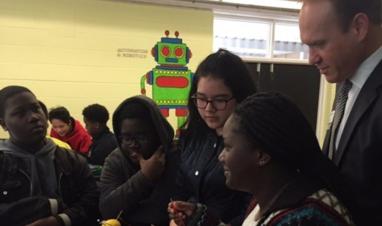 Coulwood Middle School Teacher Sees Transformation from PLTW Gateway