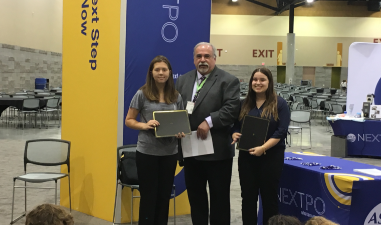 PLTW Students Earn Scholarships Through HOSA Experience