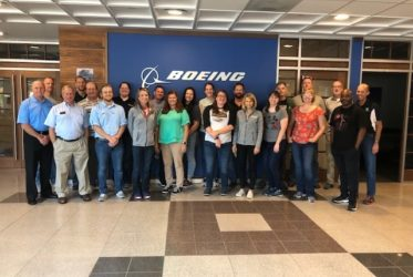 Teachers Get Exclusive Look at Nation's Iconic Aerospace Company