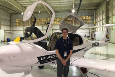 PLTW Alumnus Strives to Earn Wings Through Innovative Aviation Program
