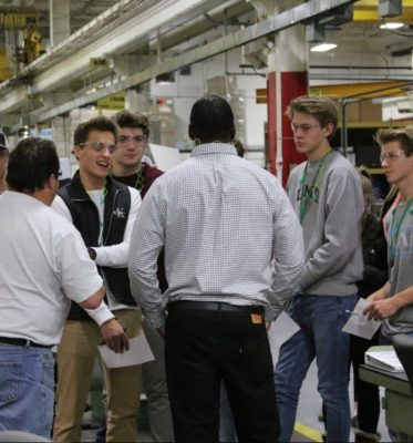 Company Partners with PLTW School to Develop Engineering Apprenticeship