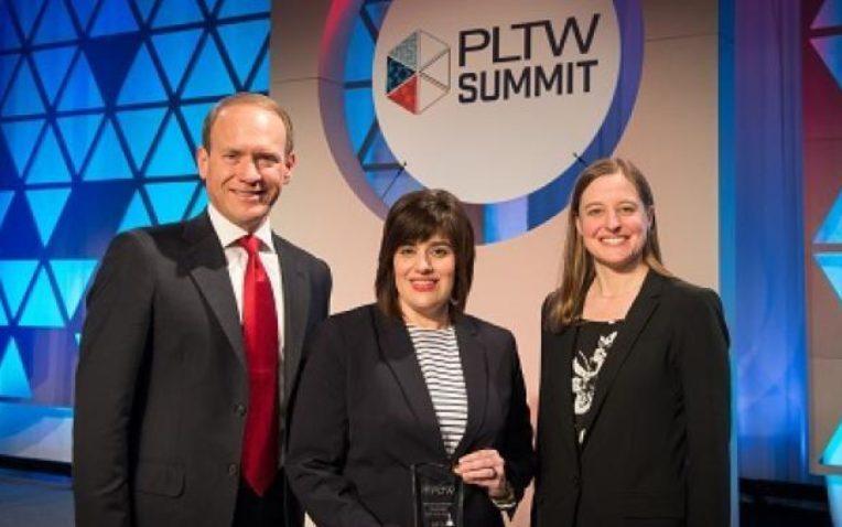 2016 PLTW Gateway Teacher of the Year Beth Fox