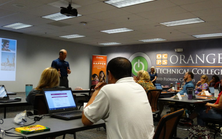 One of Nation's Largest School Districts Expands PLTW through District Transformation Training