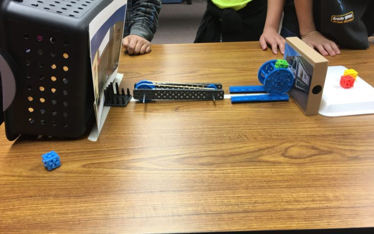 PLTW Launch Students Are Engaged in the Design Process
