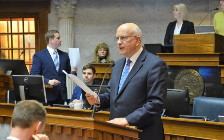 Indiana General Assembly Honors PLTW Students, Teachers
