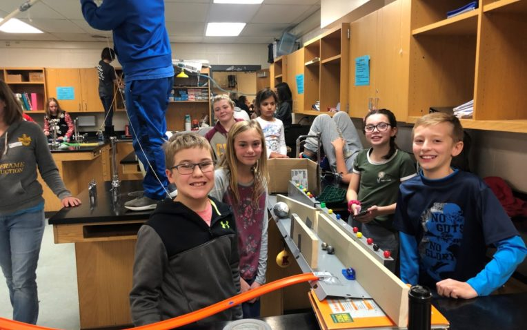 Massive Rube Goldberg Project Brings Together Middle School and Its Community