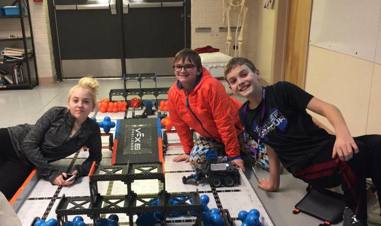 Launching Into a Robotics League