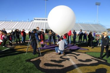PLTW Students Send Balloon Into the Stratosphere