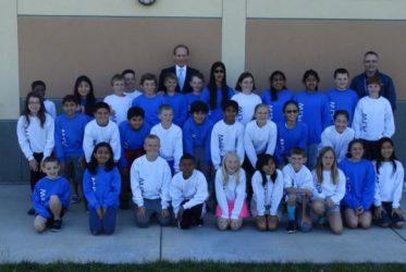 Bertram Surprises 5th Grade PLTW Students and Celebrates New Affiliate Partnership