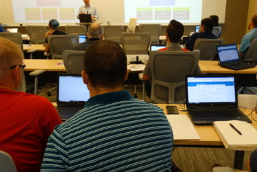 Core Training at Industry Site Puts Teachers in the Roles of Student and Cybersecurity Professional