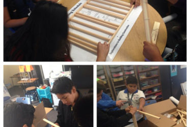 Students Build Structures – and Confidence