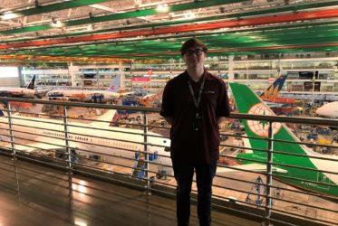 PLTW Alumnus Hopes Apprenticeship Leads to Aerospace Career