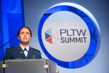 PLTW Biomedical Science Alumna Driven by Dreaming More Than Others Think Is Practical