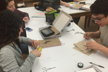 PLTW Keeps Students in Stitches