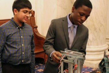 PLTW Students Showcase Projects on Capitol Hill