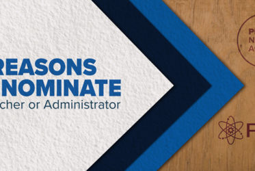 Top 5 Reasons to Nominate a Teacher or Administrator