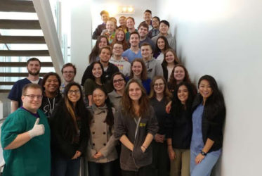University of Washington School of Medicine Students Provide Learning Opportunity for PLTW Students