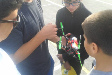 Students' Imaginations Take Flight with Drones