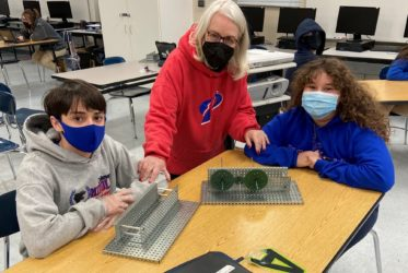 Retired Teacher Having the Time of Her Life in PLTW Classroom