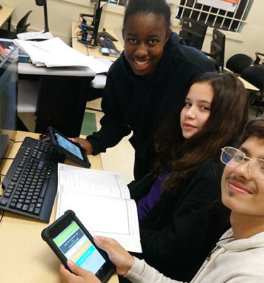 Compton Students Shine Bright Like Diamonds in App Challenge