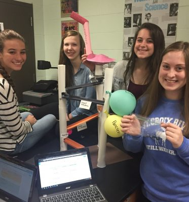 Transition From Traditional Biology Re-energizes Teacher, Students