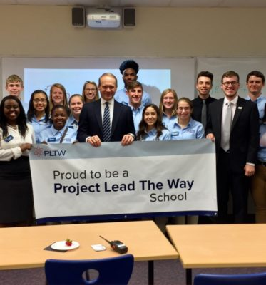 South Bend Riley High School Students Showcase Innovation and Promise for the Future