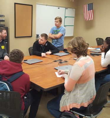 PLTW Computer Science Students Solve Real-World Problems