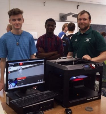 How One High School Received a 3-D Printer Donation