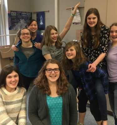 Girls in PLTW Classes Find Success!