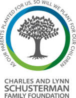 Charles and Lynn Schusterman Logo Official