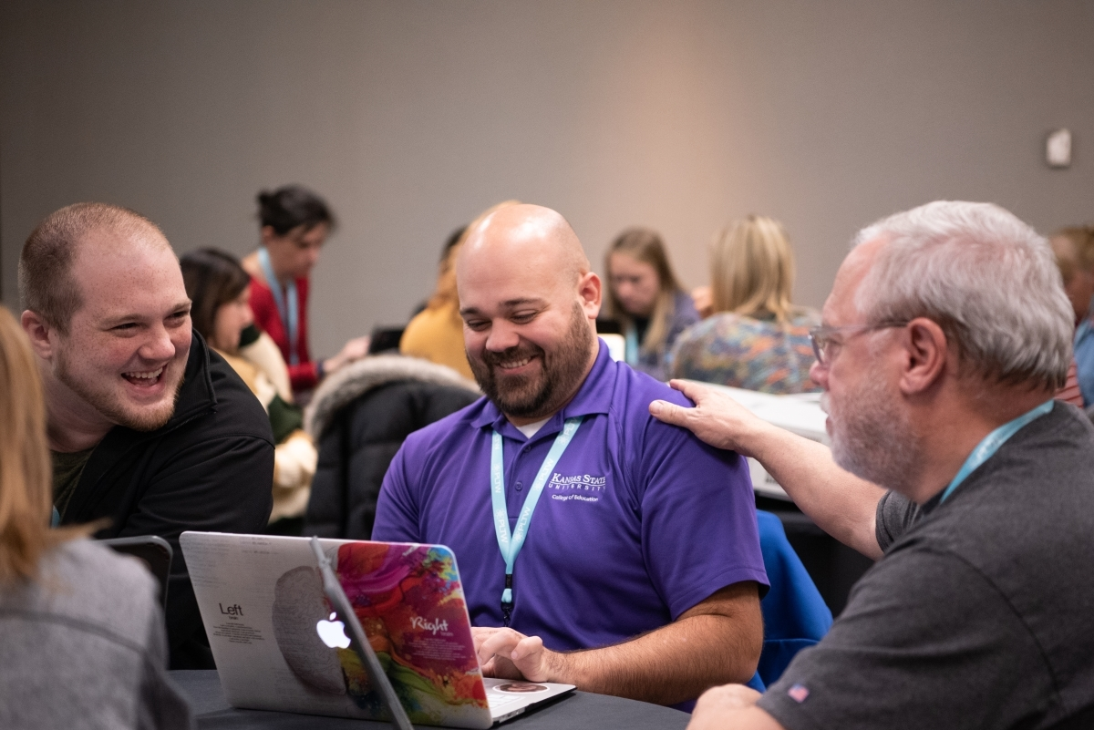 PLTW Summit Kansas City educators laughing